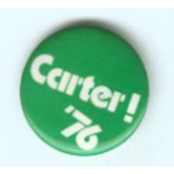 CARTER! '76 1976 Campaign Button