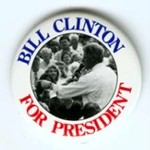 SMALL BILL CLINTON FOR PRES