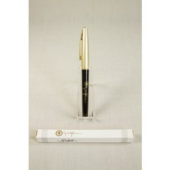 ORIGINAL SCRIPTO 200 GOLD CAPPED LBJ PEN-NOT FUNCTIONAL