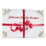 Holiday Johnson Family Recipe Cards - Set of 20
