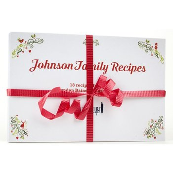 Holiday Johnson Family Recipe Cards - Set of 20