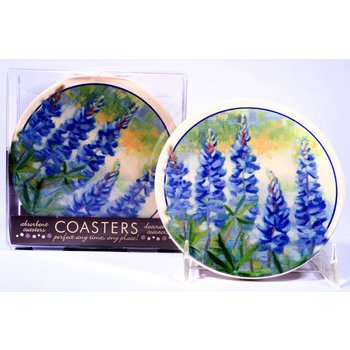 Austin & Texas Bluebonnet Coasters - Set of 4