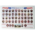 Patriotic PRESIDENTS PLACEMAT