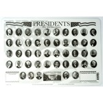 Americana Presidents Placemat