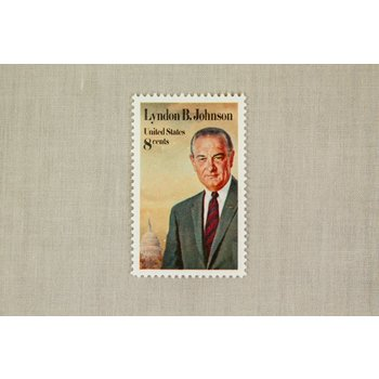 ORIGINAL COLLECTIBLE LBJ STAMP