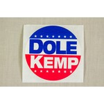 DOLE KEMP STICKER