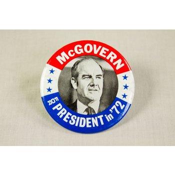 MCGOVERN FOR PRESIDENT '72