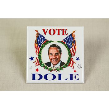DOLE VOTE FLAGS SQUARE