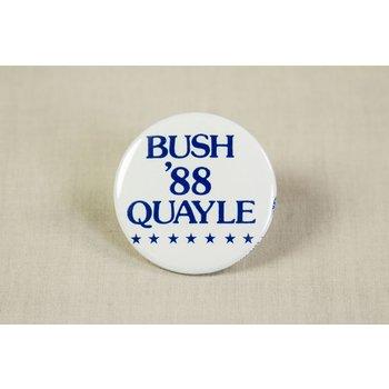 GHW BUSH '88 QUAYLE W/STARS CELLO