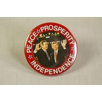 GHW BUSH QUAYLE PEACE, PROSPERITY INDEPENDENCE