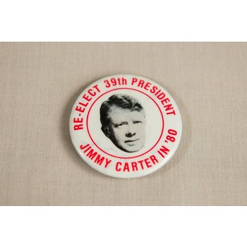 CARTER RE-ELECT 39TH PRES '80