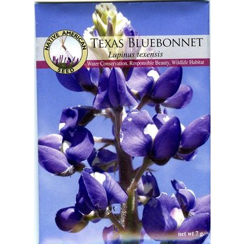 Lady Bird Bluebonnet Seeds Packet