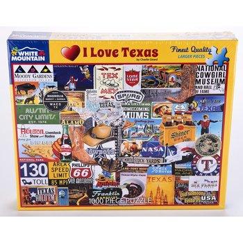 Austin & Texas I Love Texas 1000 pc Puzzle