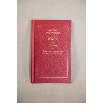 George Washington's Rules of Civility HB