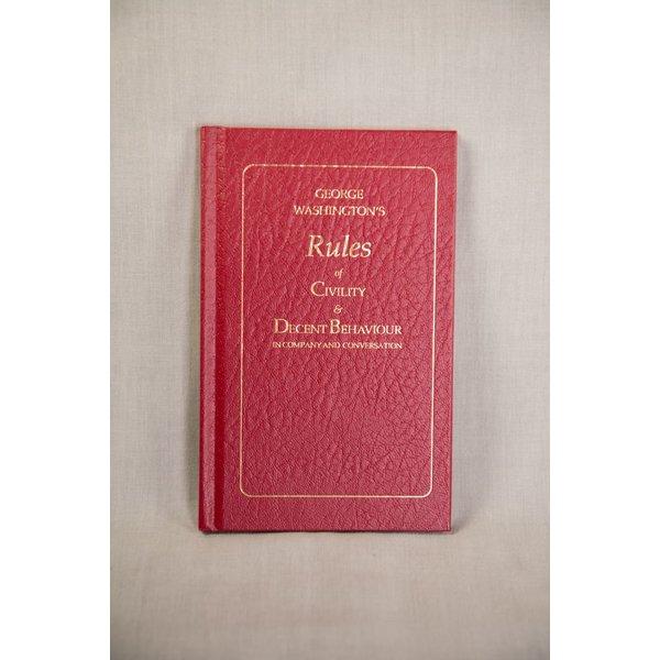 G. WASHINGTON'S RULES OF CIVILITY