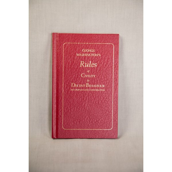 George Washington's Rules of Civility HB