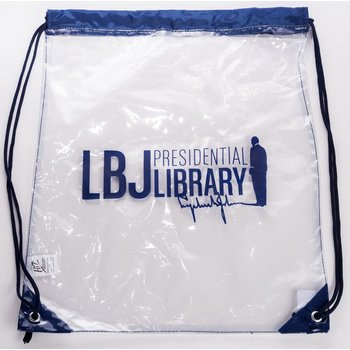 sale-LBJ LIBRARY CLEAR STADIUM BACKPACK