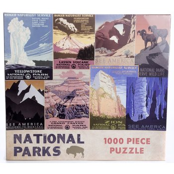 NATIONAL PARKS 1000 PC PUZZLE