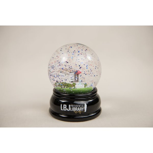 LBJ CUSTOM SNOW GLOBE