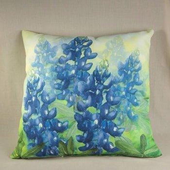 Bluebonnet Pillow - Square