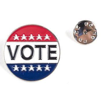 Americana Vote Lapel Tac Pin
