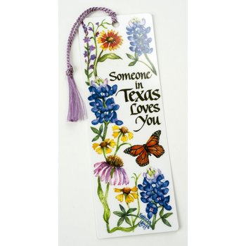 Austin & Texas SOMEONE IN TEXAS LOVES YOU BOOKMARK