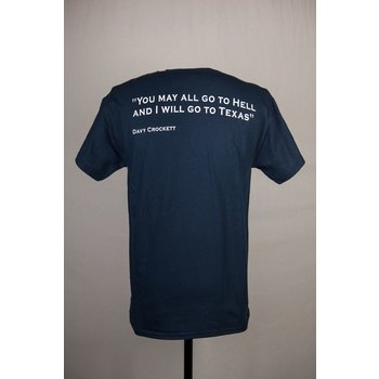Texas Traditions DAVY CROCKETT TSHIRT