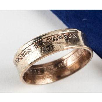 All the Way with LBJ CUSTOM LBJ COIN RING