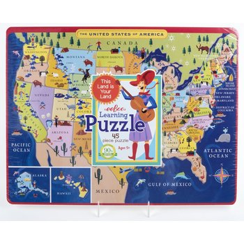 Just for Kids USA MAP LEARNING PUZZLE AGES 5+