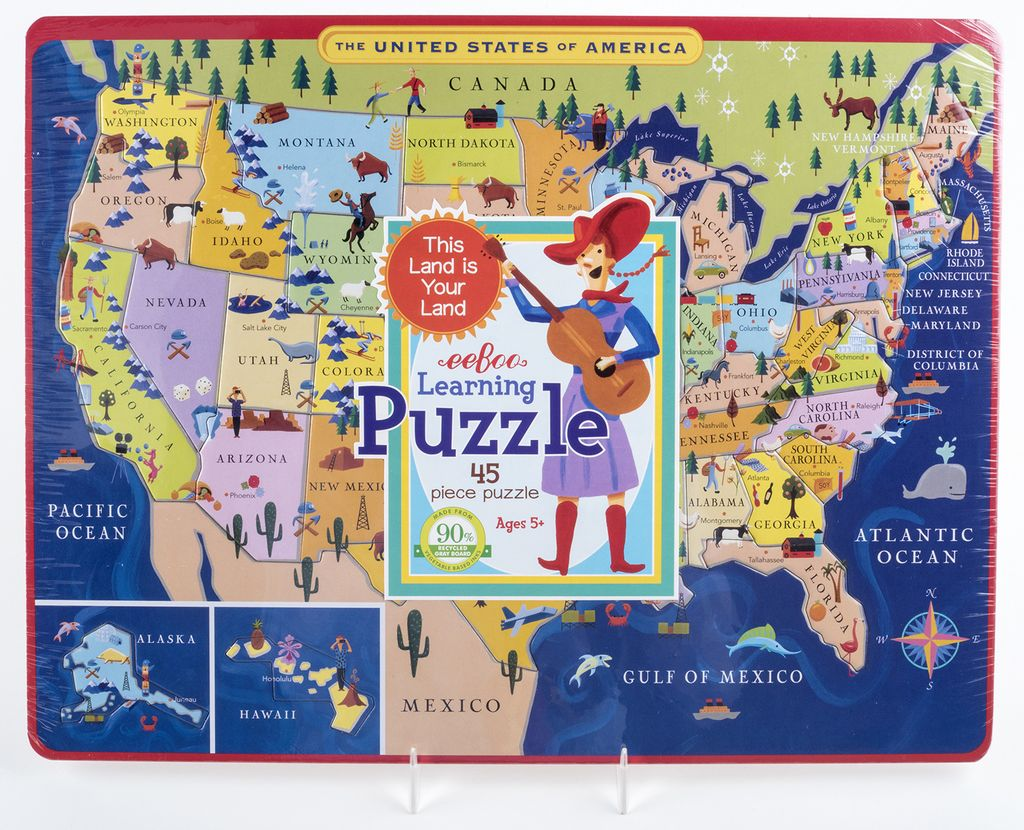 Kids Usa Map.Just For Kids Usa Map Learning Puzzle Ages 5 The Store At Lbj