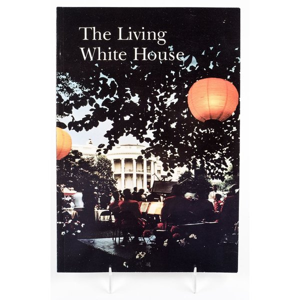 """All the way with LBJ VINTAGE, ORIGINAL """"THE LIVING WHITE HOUSE"""" -1966"""
