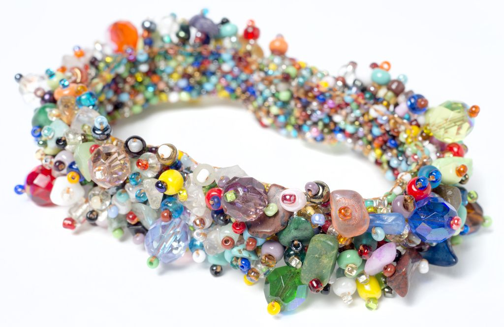 Fuzzy Beaded Bracelet Td Colors
