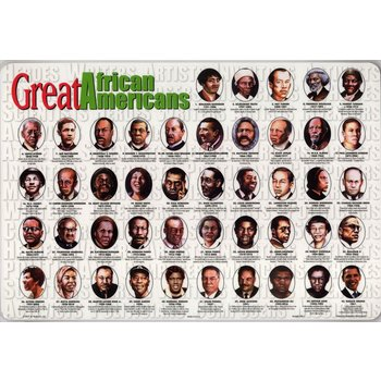 Civil Rights African American Placemat