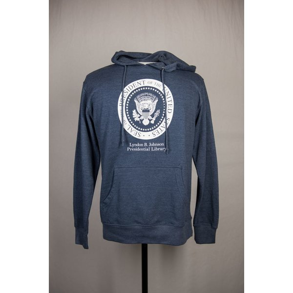 sale-LBJ PRESIDENTIAL SEAL HOODED SWEATSHIRT