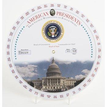 Americana American Presidents Chart Wheel