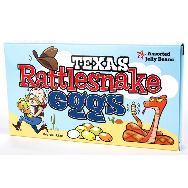 Austin & Texas RATTLESNAKE EGGS