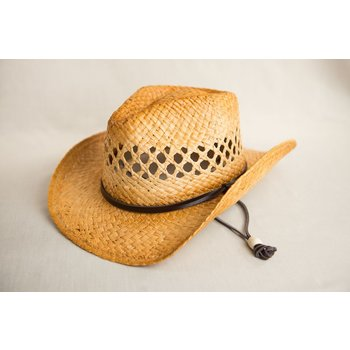 Just for Kids KID COWBOY HAT TEA STAINED