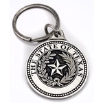 Texas Traditions sale-TEXAS STATE SEAL KEYCHAIN