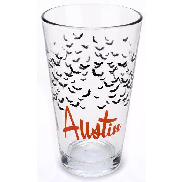 Texas Traditions AUSTIN BATS PINT GLASS