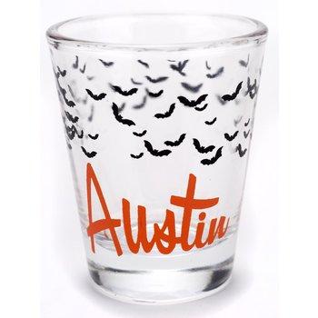 Austin & Texas AUSTIN BATS SHOTGLASS