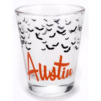 Texas Traditions AUSTIN BATS SHOTGLASS