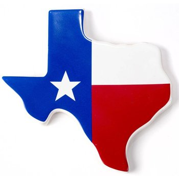 Austin & Texas Texas Shape Coaster