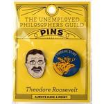 THEODORE ROOSELVELT ENAMEL PIN S/2