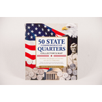Patriotic QUARTERS OF UNITED STATES  COLLECTION FOLDER