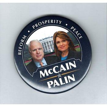 Reform, Prosperity, Peace McCain Palin
