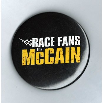 RACE FANS FOR MCCAIN