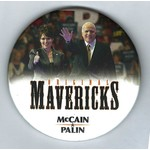 ORIGINAL MAVERICKS MCCAIN PALIN 3""