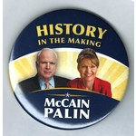"""HISTORY IN THE MAKING MCCAIN PALIN 3"""""""