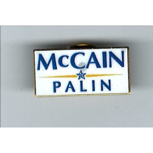 MCCAIN PALIN LAPEL PIN