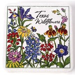 WILDFLOWERS OF TEXAS COASTER PACK/4